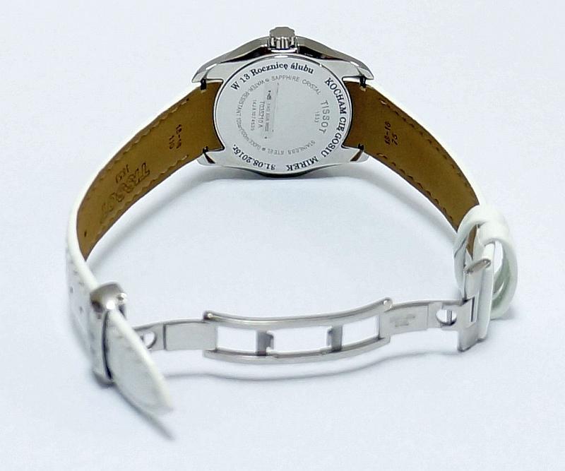 Zegarek Tissot damski z grawerem