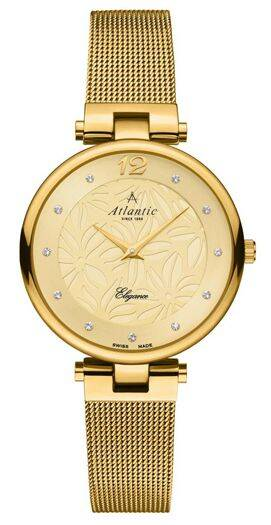 Zegarek Atlantic, 29037.45.31MB, Damski, Elegance