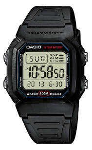Zegarek Casio, W-800H-1AVEF, Casio Collection