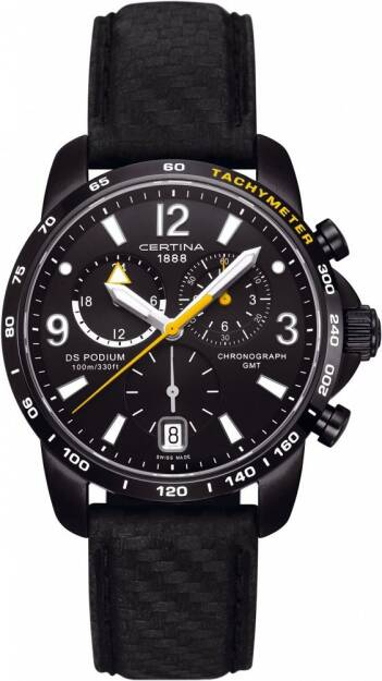 Zegarek Certina, C001.639.16.057.01, DS PODIUM BIG SIZE CHRONO GMT