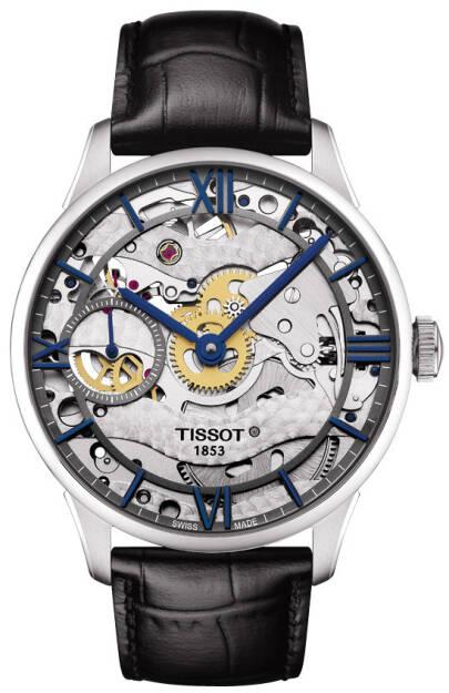 Zegarek Tissot, T099.405.16.418.00, Chemin des Tourelles Squelette