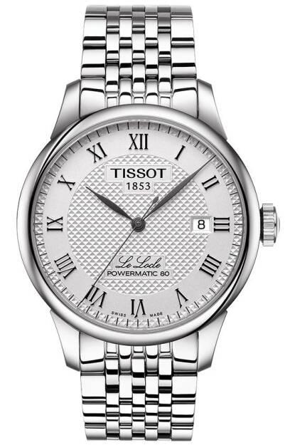 Zegarek Tissot, T006.407.11.033.00, Męski, Le Locle Powermatic 80
