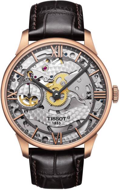 Zegarek Tissot, T099.405.36.418.00, Chemin des Tourelles Squelette