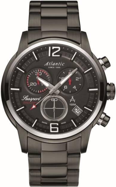 Zegarek Atlantic, 87466.46.45, Męski, Seasport Chronograph