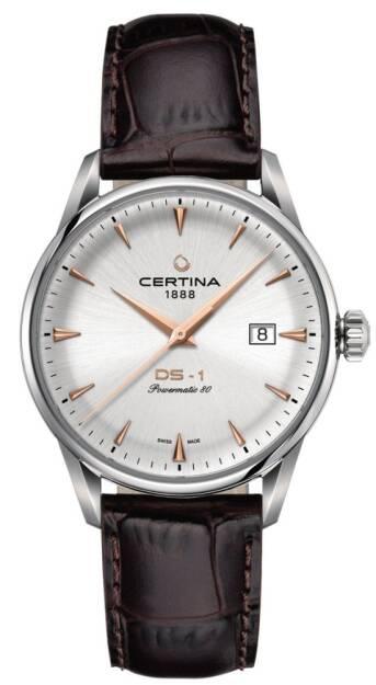 Zegarek Certina, C029.807.16.031.01, Męski, DS1 POWERMATIC 80