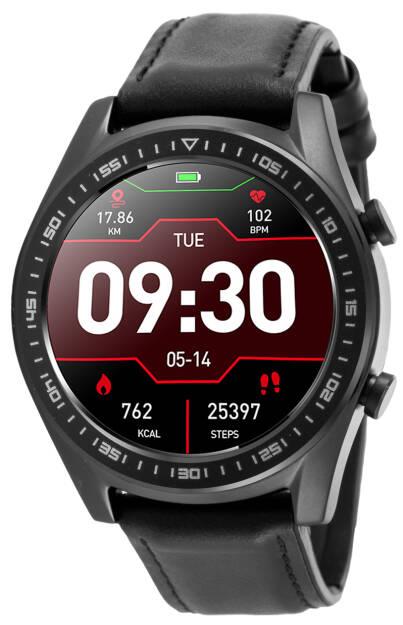 Smartwatch Rubicon, RNCE43BIBX03A2, Męski