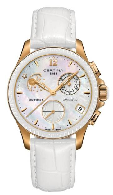 Zegarek Certina, C030.250.36.106.00, Damski, DS First Lady Chrono Moon Phase