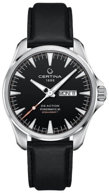 Zegarek Certina, C032.430.16.051.00, Męski, DS ACTION DAY-DATE POWERMATIC 80