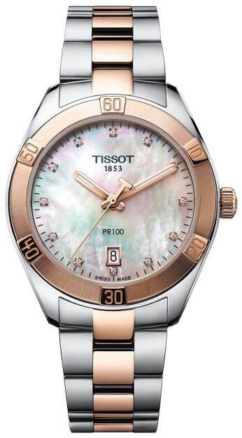 Zegarek Tissot, T101.910.22.116.00, Damski, PR 100 Sport Chic