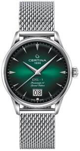 Zegarek Certina, C029.426.11.091.60, DS 1 Nivachron™ Big Date 60th Anniversary of The DS Concept
