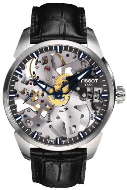 Zegarek Tissot, T070.405.16.411.00, T-Complication Squelette