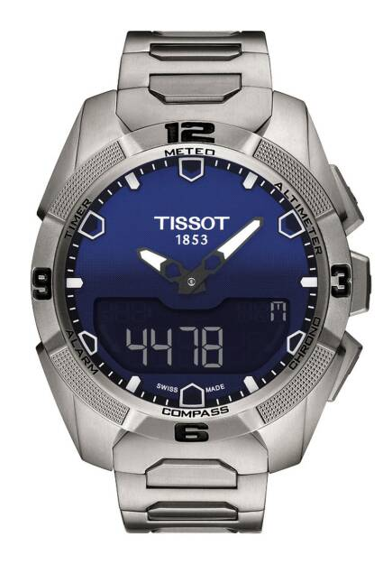Zegarek Tissot, T091.420.44.041.00, T-TOUCH EXPERT SOLAR