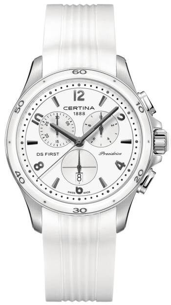Zegarek Certina, C030.217.17.017.00, DS First Lady Ceramic Chrono Precidrive
