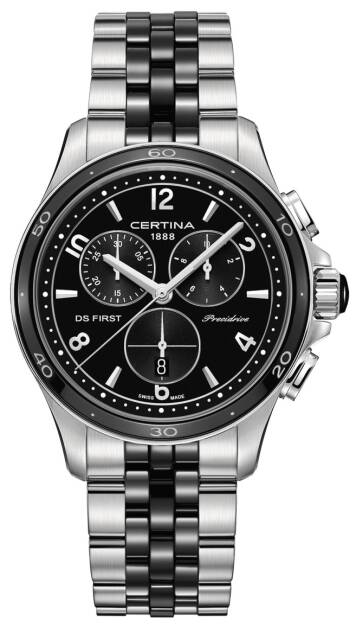 Zegarek Certina, C030.217.11.057.00, DS First Lady Ceramic Chrono Precidrive