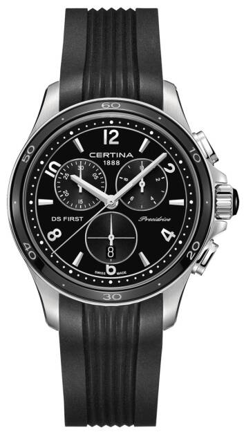 Zegarek Certina, C030.217.17.057.00, DS First Lady Ceramic Chrono Precidrive