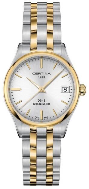 Zegarek Certina, C033.251.22.031.00, Damski, DS-8 COSC CHRONOMETER