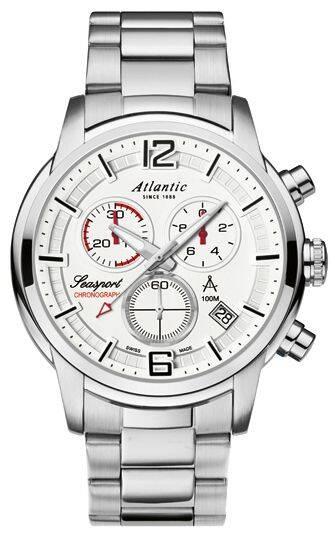 Zegarek Atlantic, 87466.41.25, Męski, Seasport Chronograph
