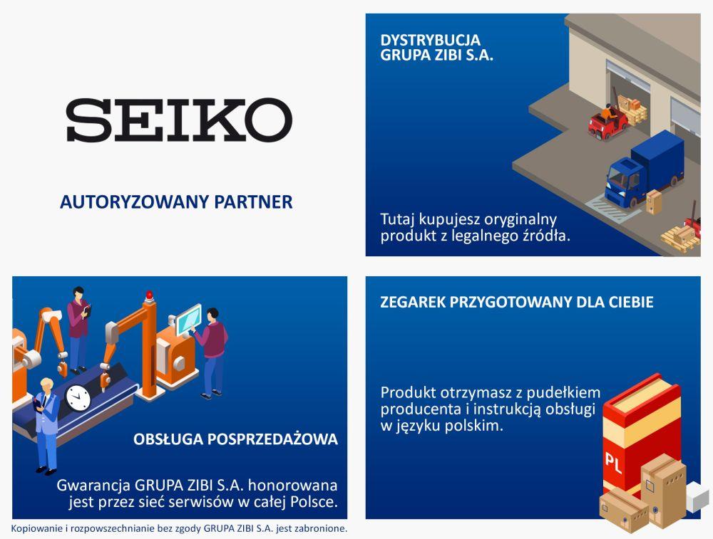 7f23b8dcd19787 Zegarki SEIKO ® • AUTORYZOWANY SKLEP SEIKO • RATY 0%